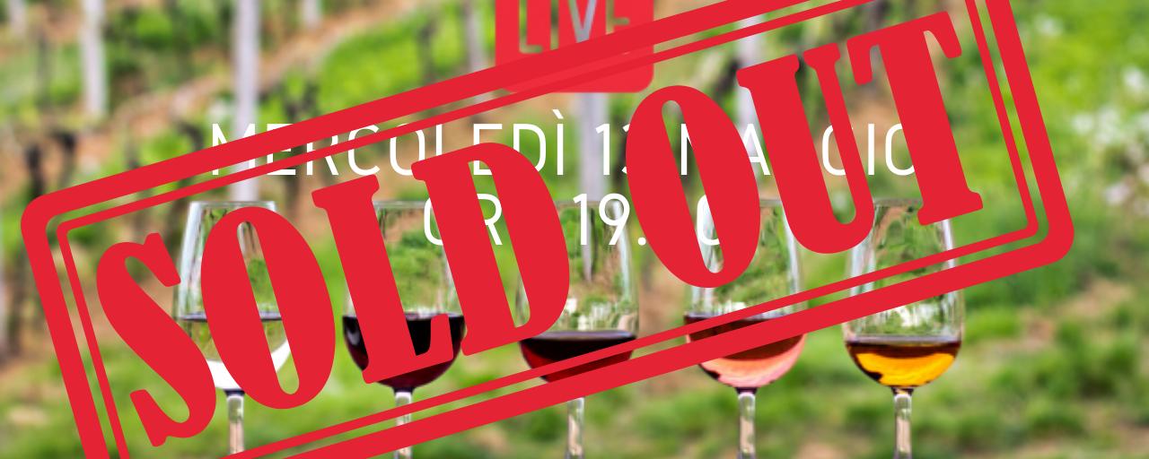 Guida alla degustazione del vino (LIVE)