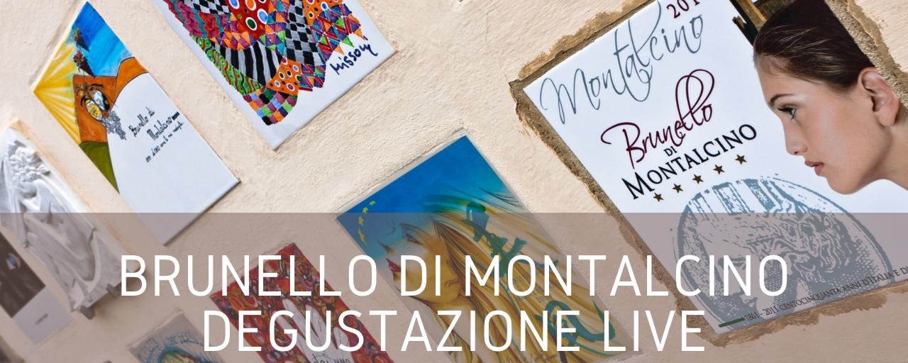 Degustazione Live Brunello di Montalcino