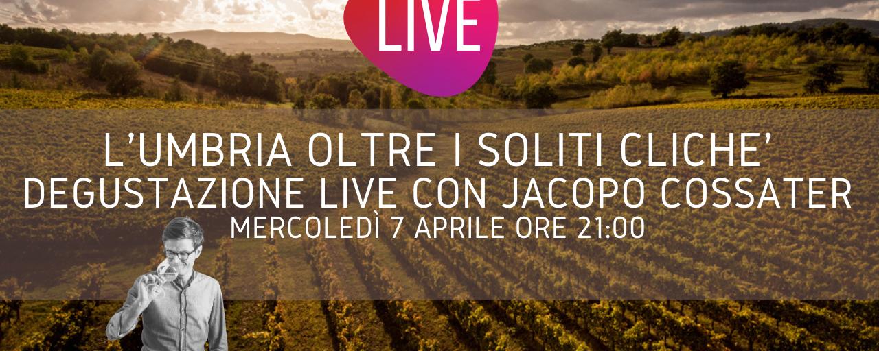 Degustazione Live L'Umbria oltre i soliti cliché